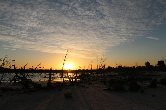 Sunset Lake Magic